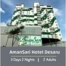 L'Étape Special 3 Days 2 Night - Twin Share - Amansari Hotel Desaru