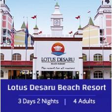 L'ETape Special 3 Days 2 Night - 2 Bedroom Apartment 4 Adults - Lotus Desaru Beach Resort & Spa