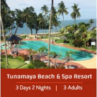 L'Étape Special 3 Days 2 Night - 3 Adults - Tunamaya Beach & Spa Resort