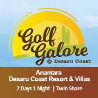 Golf Galore 2 Days 1 Night - Anantara Desaru Coast Resort & Villas  - Twin Share