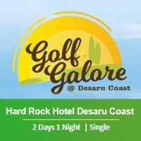 New Golf Galore 2 Days 1 Night - Hard Rock Hotel Desaru Coast - Single