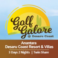 New Golf Galore 3 Days 2 Nights - Anantara Desaru Coast Resort & Villas - Twin Share